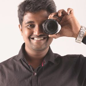Arun, professional photographer in Chennai, Tamil Nadu, India